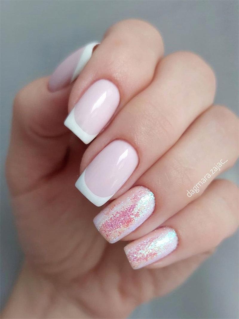 Pretty French Nail Design