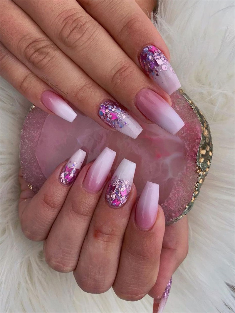 French Ombre Nail Design