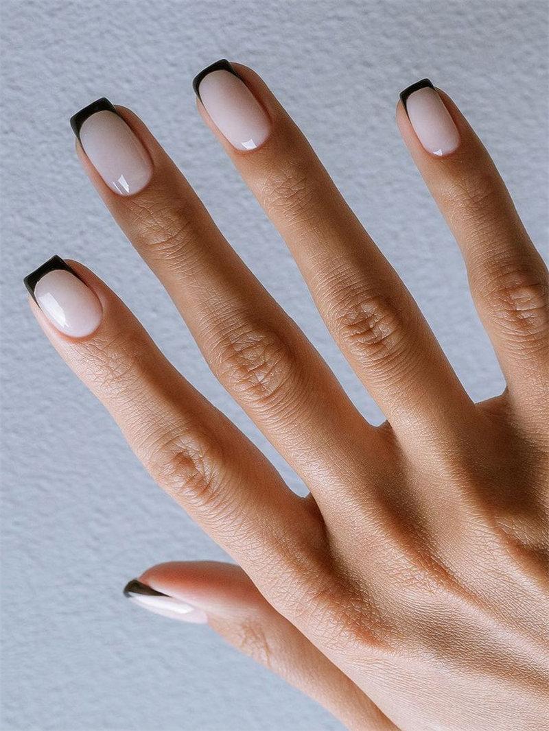 Elegant French Nail Design