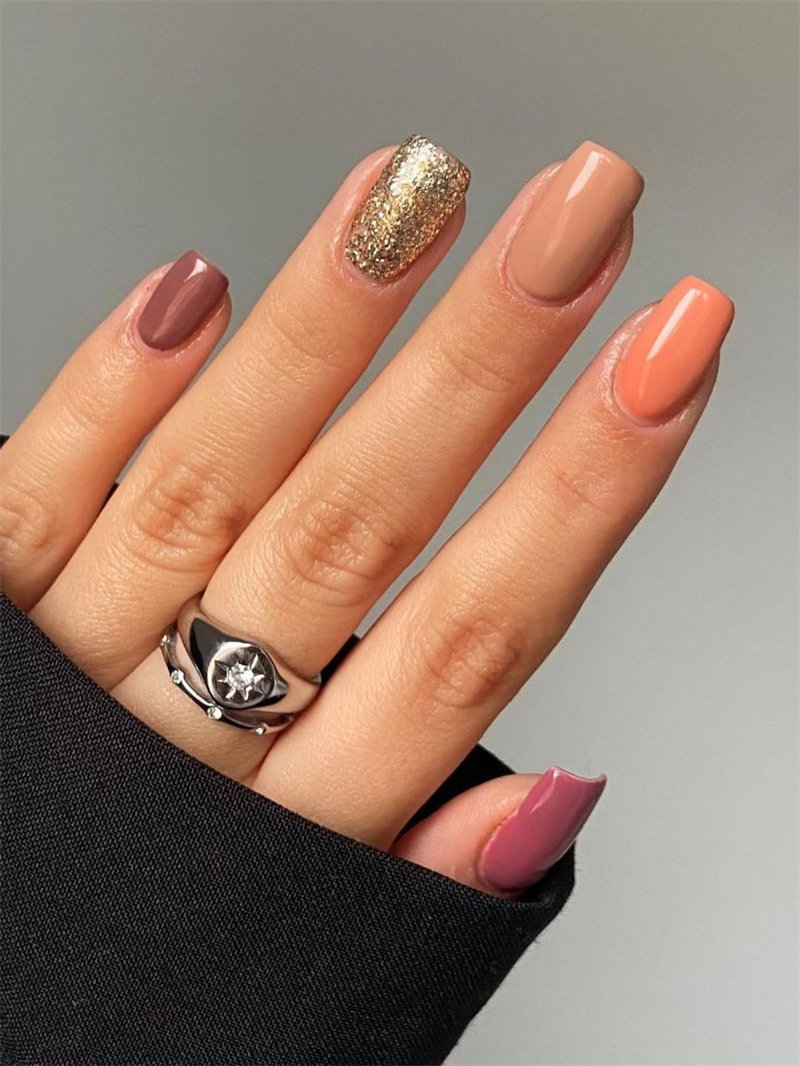 Autumn Nail Design and Colors Inspiration